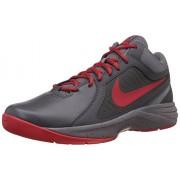 Nike Men's The Overplay ViiiDark Grey and University RedBasketball Shoes -8 UK/India (42.5 EU)(9 US)