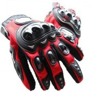Pro Biker Riding Glove ( XXL size Red Black)