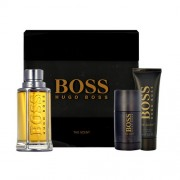 Hugo Boss The Scent 100Ml Edt 100Ml + 50Ml Shower Gel + 75Ml Deo Stick Per Uomo (Eau De Toilette)