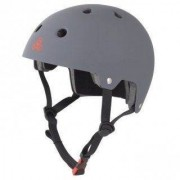 Triple Eight Dual Certified with EPS Liner Grey - Helm