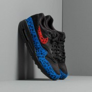 Nike W Air Max 1 Premium Black/ Habanero Red-Racer Blue