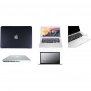 Case Carcasa + Protector De Teclado / Puertos / Pantalla / Trackpad Para Macbook Pro 13'' Model (A1278) -Negro