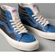 Vans Sk8-Hi Reissue Vl (Leather) True Blue/ Black