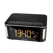 Astrum ST250 multifunkciós bluetooth v3.0 hangszóró ébresztőórával, FM rádióval, micro SD olvasóval, AUX, 10W