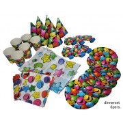 "Set masa 6 piese""Smilies"" 6 persoane - Cod 64217"