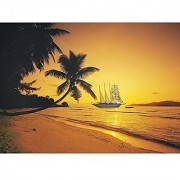 Seychelles Sunset 1000 Piece Jigsaw Puzzle