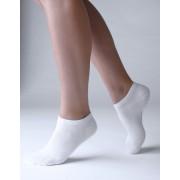 GINA Ponožky kotníkové 82002-MxB bílá 41-44