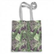 Seamless Tropical Growth Totebag, Tote Bag