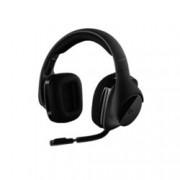 Слушалки Logitech G533, безжични, микрофон, гейминг, черни