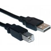 FAST ASIA Kabl USB A - USB B MM 3m crni