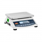 Bilancia da tavolo - tarata - 120 kg / 50 g - LCD - Funzione memoria