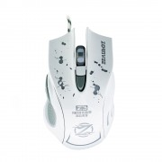 Геймърска мишка, ZornWee Z3, Оптична, Бял - 978