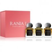 Rania J. Priveé Rubis Collection подаръчен комплект II. парфюмна вода 3 x 5 ml