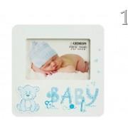 Fényképtartó Baby macis 15x10cm-es képhez B1846 2féle - Fényképtartó