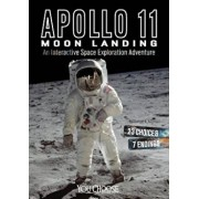 Apollo 11 Moon Landing: An Interactive Space Exploration Adventure, Paperback/Thomas K. Adamson