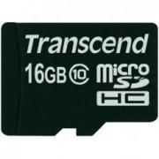 Transcend Carte Micro SDHC Class 10 Transcend - 16 Go