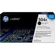 HP 504X Tóner Original Laserjet Alta Capacidad Negro