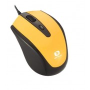 Mouse Serioux Pastel 3300, USB, Yellow