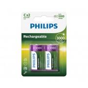 Philips R14B2A300/10 - 2 buc Baterie reincarcabila C MULTILIFE NiMH/1,2V/3000 mAh