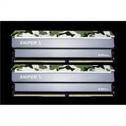 G.Skill Sniper X DDR4 32GB (2x16GB) 3000MHz CL16 XMP 2.0 1.35V Classic Camo
