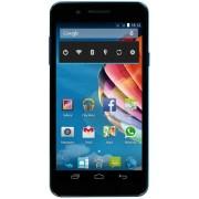 "Telefon mobil Mediacom PhonePad Duo S551U, Procesor Quad-Core MediaTek MTK6582M 1.3GHz, IPS LCD Capacitive touchscreen 5.5"", 1GB RAM, 8GB Flash, 13MP, Wi-Fi, 3G, Dual Sim (Albastru) + Cartela SIM Orange PrePay, 6 euro credit, 4 GB internet 4G, 2,000 minut"