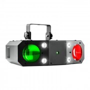 Beamz Terminator III 3-in-1-LED светлинен ефект Moonflower Laser Stroboskop (Sky-153.714)
