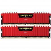 Memorie Corsair Vengeance LPX Red 16GB DDR4 2666 MHz CL16 Dual Channel Kit