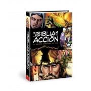 La Biblia en Accion = The Action Bible, Hardcover