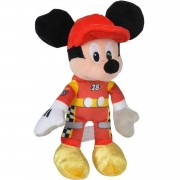Pluche Mickey Mouse race knuffel 17 cm - Disney knuffels