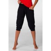Pantalon Capri Roma negru XL