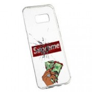 Husa de protectie Supreme Money Samsung Galaxy S8 rez. la uzura Silicon 257
