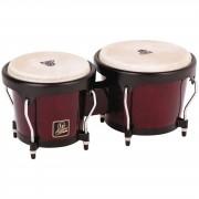 "Latin Percussion Aspire Bongos LPA601-DW, 6 3/4"" + 8"", Dark Wood #DW"
