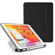 """Pipetto Origami Pencil Case tok Apple iPad 10.2"""" (2019) készülékhez, fekete"""