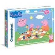Clementoni puzzle supercolor peppa pig 24 maxi pezzi 24028