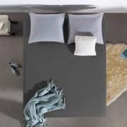 Home Care HC Dubbel Jersey Hoeslaken - Antraciet - Antraciet - Size: 100 x 200