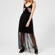 Guess Women's Gertrude Dress - Jet Black - S - Black