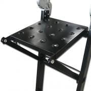 Max DLLA201 pracovní kovová plošina odkládací k žebříku vnější