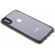 Zwarte Survivor Clear Case voor de iPhone X