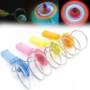 Set 10 Titirezi magnetici cu LED Magnetic Gyro Wheel