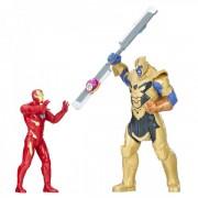 Hasbro marvel avengers infinity war iron man thanos hero vision battle set personaggi e0559103