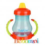 Неразливаща чаша с мек накрайник Babyono 6+ месеца