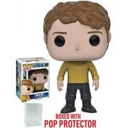 Funko POP TV: Star Trek Beyond - Chekov Duty Uniform Vinyl Figure (Bundled with Pop BOX PROTECTOR CASE)