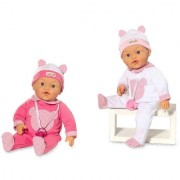 Loko toys, lutka beba sa funkcijama koja leži, 37 cm