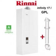Rinnai Scaldabagno Rinnai Infinity 17i A Gas Gpl Da Interno + Kit Fumi