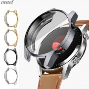 Huawei TPU Case for HUAWEI watch GT 2 46mm strap band soft Plated All-Around Screen Protector cover bumper huawei Watch 2 pro/GT2 46 mm