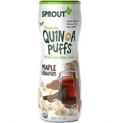 Sprout Organic Quinoa Puffs Baby Snack Maple Cinnamon 1.5 Ounce