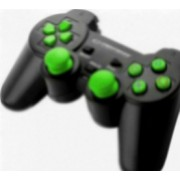 Gamepad Esperanza EGG106G Corsair PC PS2 PS3 Negru-Verde
