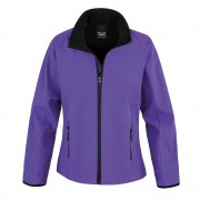 Resultaat Womens/dames kern afdrukbare Softshell jas