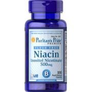 vitanatural niacine 500 mg - flush free - 100 capsules