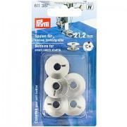 Prym Nähmaschinenspulen für kleine Umlaufgreifer, Ø 21,2 mm, Höhe: 9,2 mm, Inhalt: 5 Stück